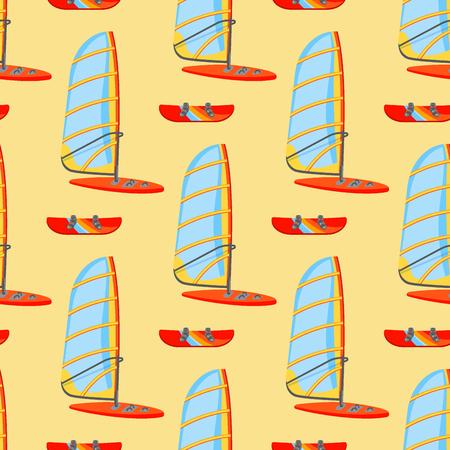 Kiteboard pattern image illustration