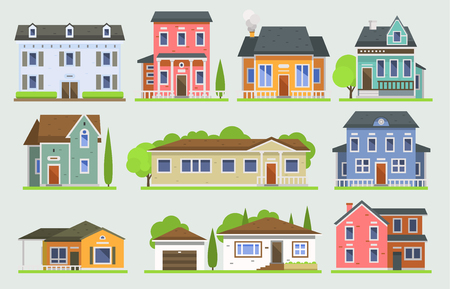 House design image illustration Illusztráció