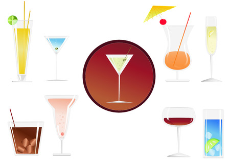 cocktail drinks: a collection of stylish cocktail drinks