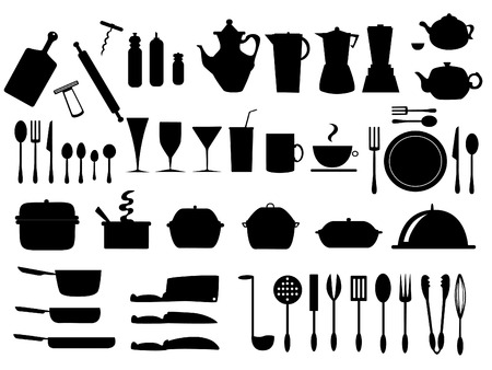 wide collection of different food and kitchen supply
