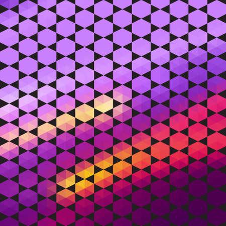 Triangles.Geometric background.