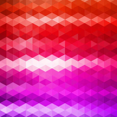 grange: pattern of geometric shapes. Triangle mosaic backdrop.