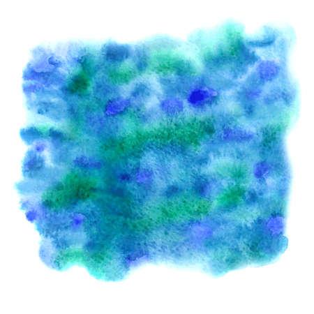 추상적 인 벡터 수채화 배경입니다. 손으로 그린 grunge 배경입니다. 수채화 배너입니다. 일러스트
