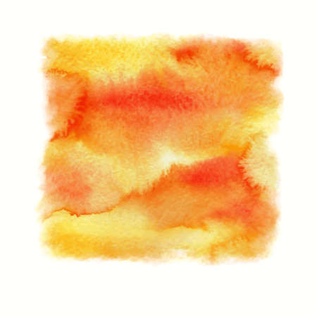 Abstract vector watercolor background. Hand painted grunge background.  Watercolor banner. Illustration