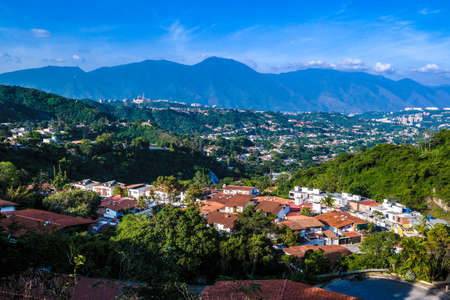 caracas: View of Caracas in January Stock Photo