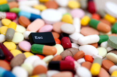esc: Esc key among drugs  escape from drugs