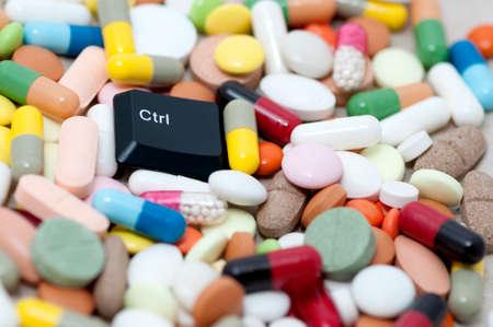 Ctrl  control  key among drugs  Control drugs  photo