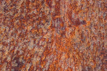 Verrostete Metalloberfläche Textur