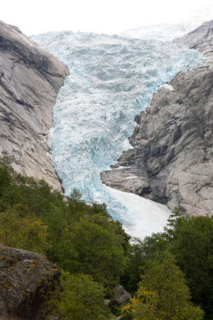 jostedalsbreen: Extreme close-up of Jostedal glacier in  Norway, Scandinavia, Europe Stock Photo