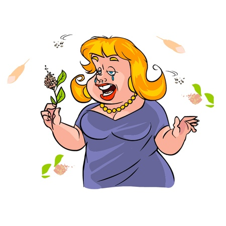 allergy Иллюстрация