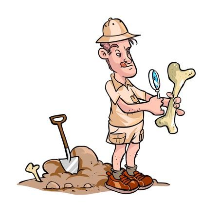 Archäologe Standard-Bild - 20880262