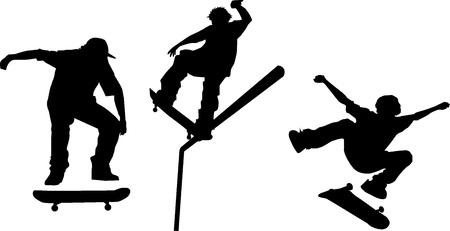grind: Different Skater Illustration