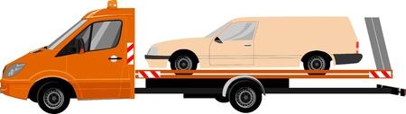 breakdown truck: Breakdown vehicle