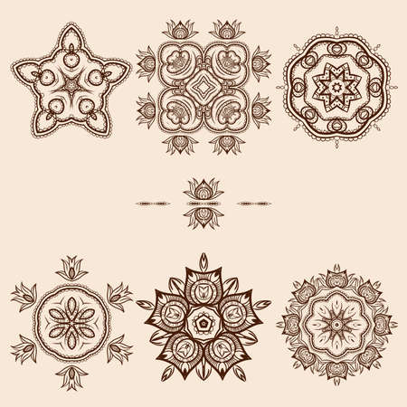 broun: Broun Flower Pattern Pack