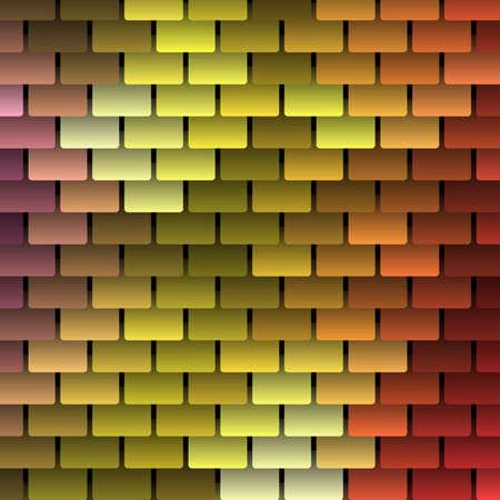 shingles: Colored Vector Shingles Background Illustration