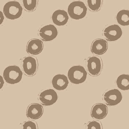 grunge pattern: Seamless Grunge Pattern of Tracing Brush Strokes Illustration