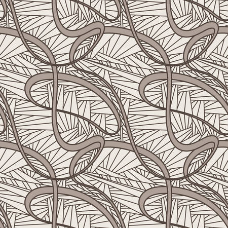 thickness: Seamless vector pattern abstratny of lines of different thickness and geometric texture Illustration