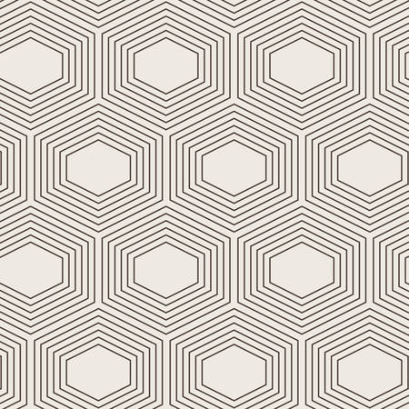plurality: Seamless vector abstract geometric pattern of a plurality of hexagons