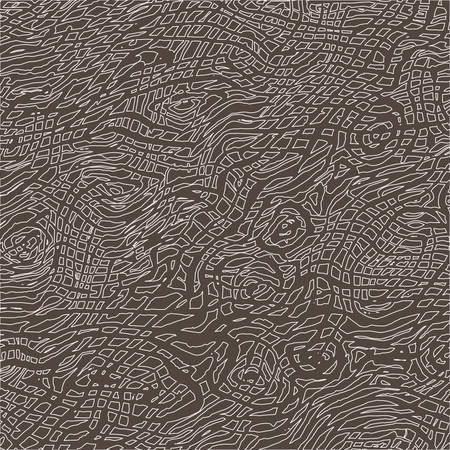 rosewood: Drawn by hand grunge ink monochrome wood texture Illustration