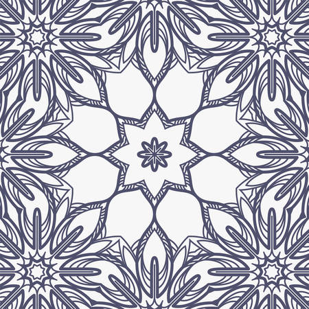 Vector seamless pattern imitating embroidery or floral lace Vector