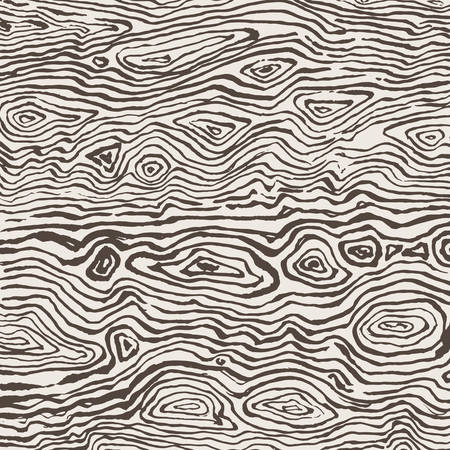 шпон: Нарисованные от руки гранж чернил монохромный текстуры дерева