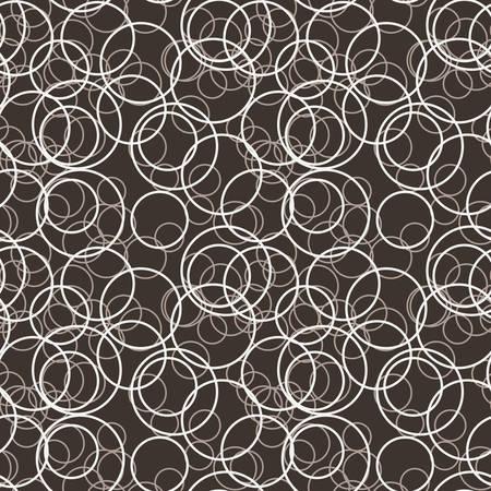 randomly: Vector seamless pattern of randomly scattered circles