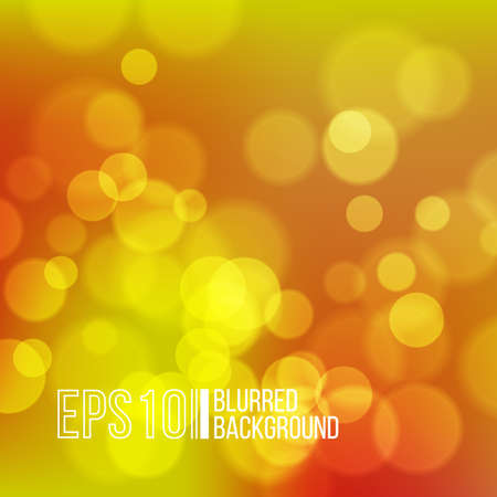 outdoor glamour: Bright vector background with bokeh effect. Wallpaper