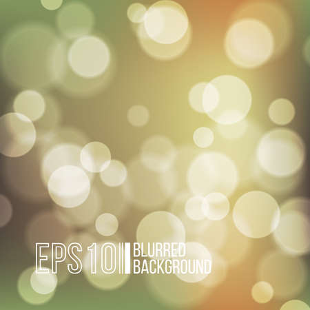 Bright vector background with bokeh effect. Wallpaper