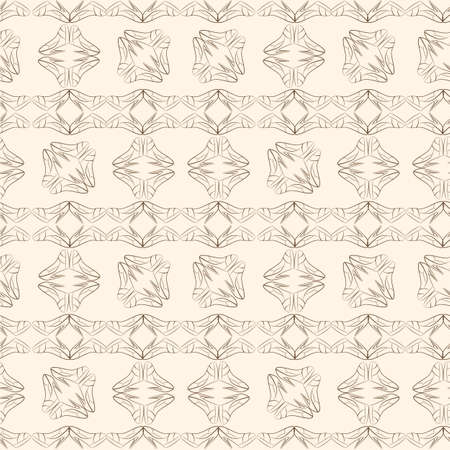 women's shoes: Vector seamless pattern of stylized womens shoes. Monochrome Illustration