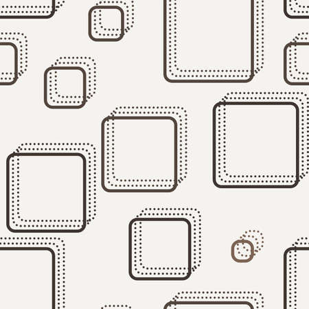 contrasting: Vector seamless dotted and lined pattern in contrasting colors Illustration
