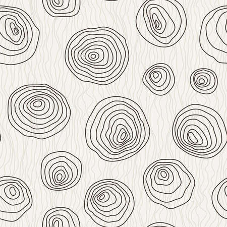 manually: Seamless pattern of the curves manually drawn concentric circles