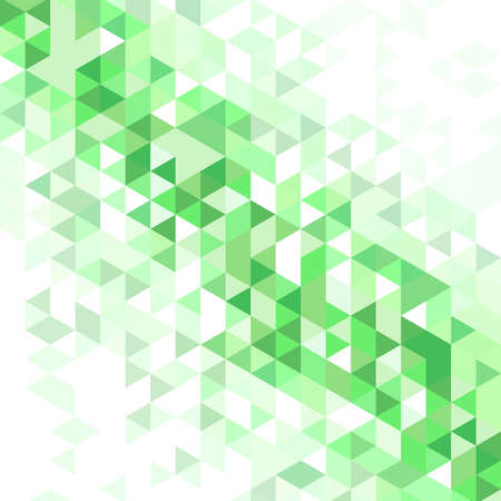 transition: Background of different color triangles with a gradient transition in white Stock Photo