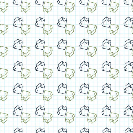 cursors: Seamless pattern of arrows surround-like cursors