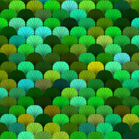 scaly: Summer forest scaly texture in different shades of green Stock Photo