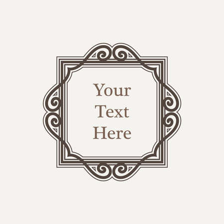 victorian frame: Ornate richly decorated vintage frame in Victorian style