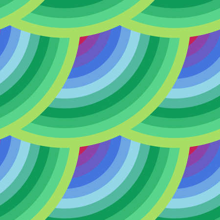 striped texture: Vector seamless abstract pattern of elements in all colors of the rainbow with a striped texture
