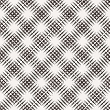 repetition: Seamless pattern of lines in the style of engraving Stock Photo