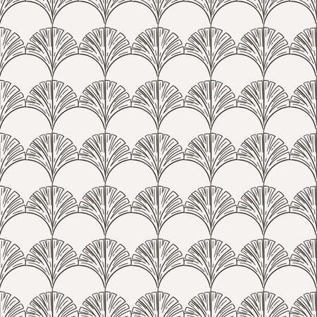 contrasting: Seamless hand-drawn floral pattern in contrasting colors