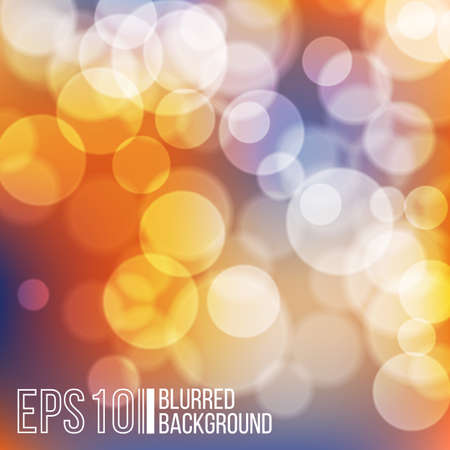 effect: Bright vector background with bokeh effect. Wallpaper. Illustration