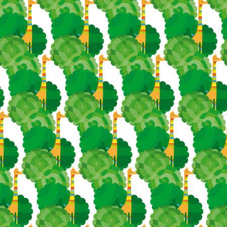 thousand: Thousand Giraffe Pattern