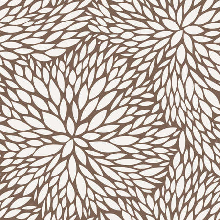 contrasting: Vector seamless pattern of leaves in contrasting colors