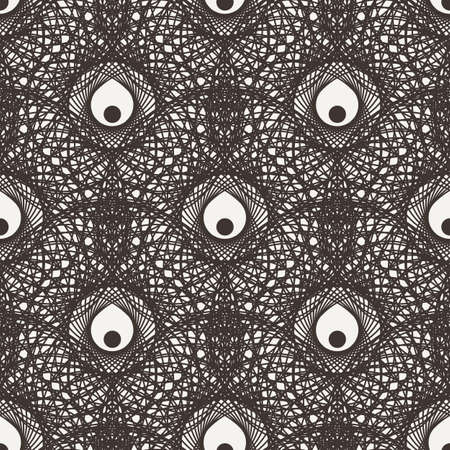 contrasting: Vector seamless floral pattern in contrasting colors
