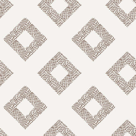 intertwined: Vector seamless pattern of randomly intertwined ribbons