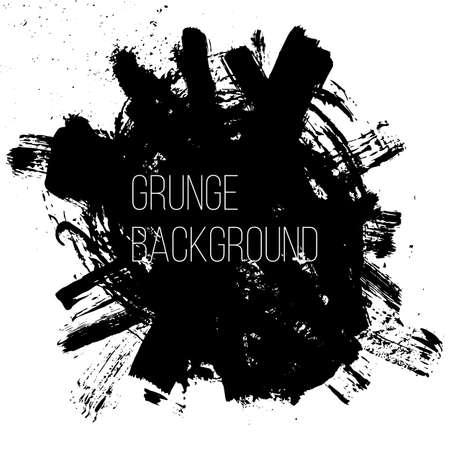 untidy: Grunge backgound. Abstract poster. Vector illustration.