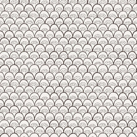 doodle template pattern like fish scale royalty free cliparts