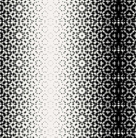 prickles: Seamless monochrome chaotic star pattern. Vector endless ornament. Illustration