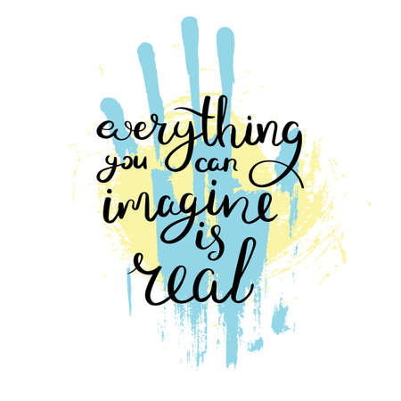 Hand drawn motivation quote. Creative vector typography concept for design and printing. Ready for cards, t-shirts, labels, stickers, posters. Illustration