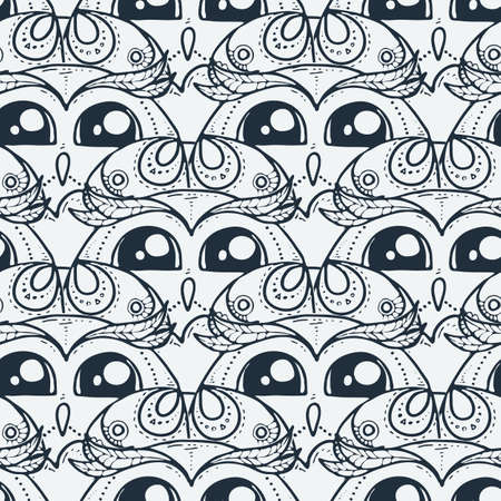 Vector seamless pattern in scandinavian stile. Backdrop for children textiles wrapping paper. Modern background bright design