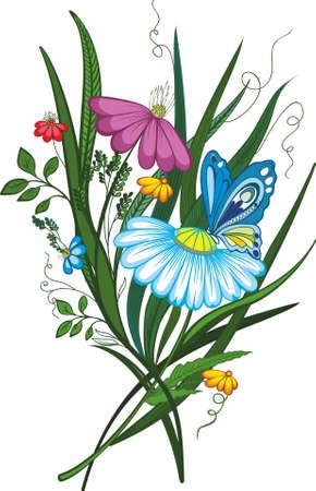 bouquet of flowers Stock Vector - 9794608