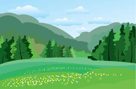 tillage: Green meadow